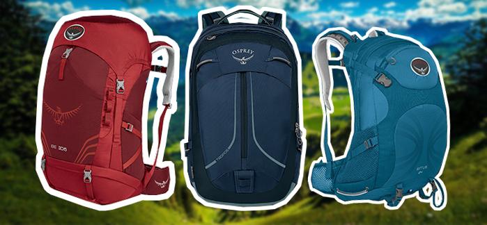Рюкзаки для путешествий Osprey