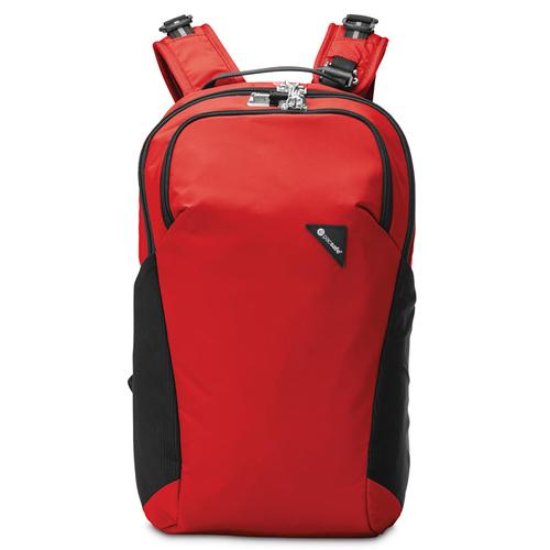 Рюкзак с максимальной защитой от карманников Vibe 20 красный