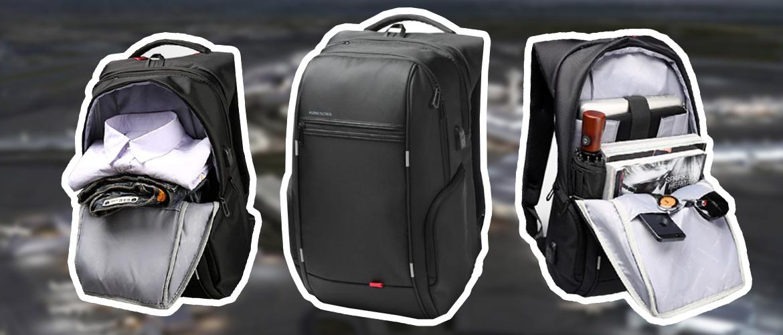Лучший рюкзак для ручной клади 40х25х20 -Kingsons5534