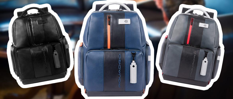 Piquadro discover - люксовые рюкзаки для ручной клади